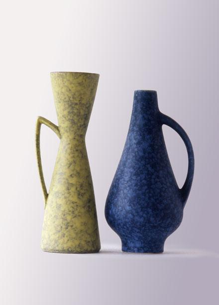 Inspiriert vom bauhaus die 1950er jahre vase in ost und for Otto vasen