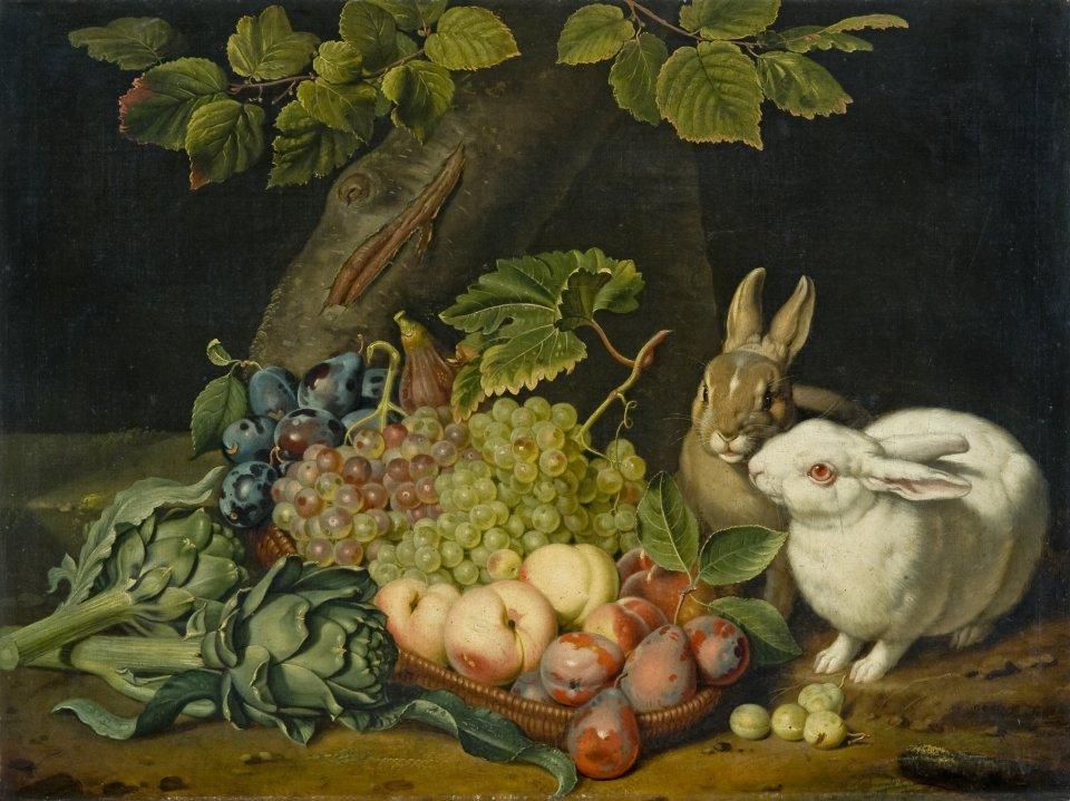 Stilleben Erfurt bild der woche früchtestillleben mit kaninchen erfurt de