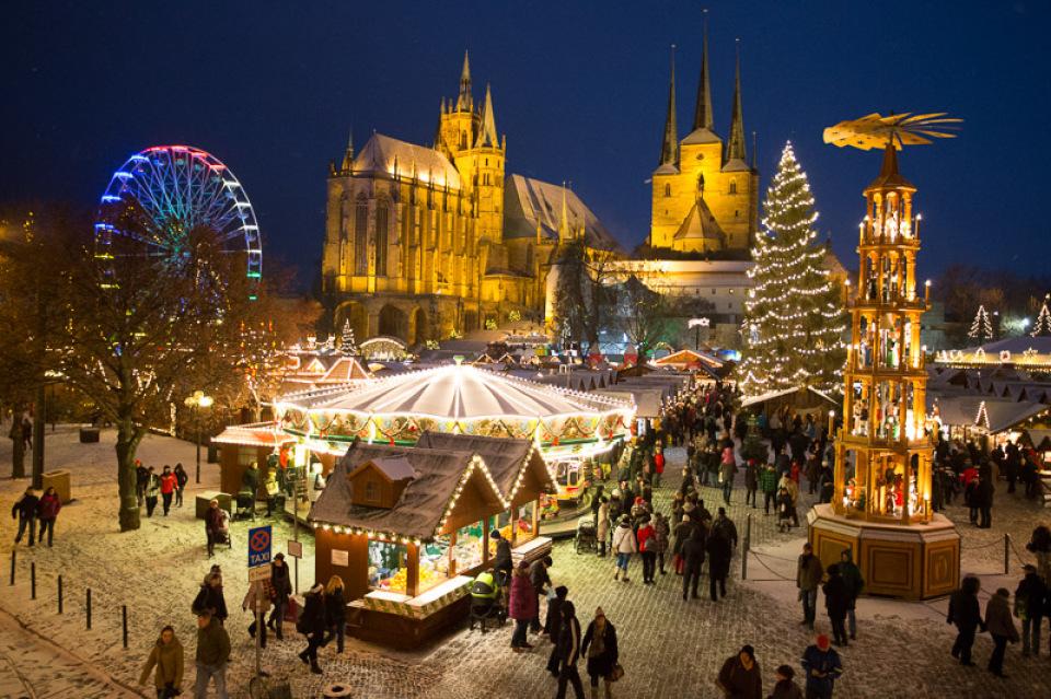 Wann Ist Der Weihnachtsmarkt.Erfurter Weihnachtsmarkt Erfurt De