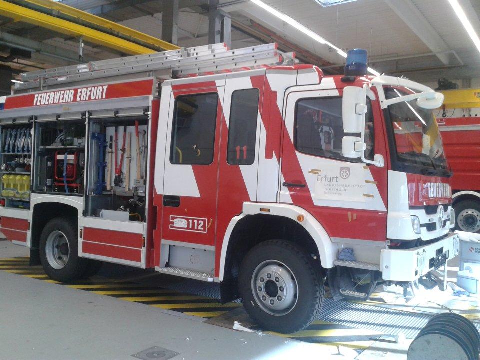 Neue Fahrzeuge für die Feuerwehr Erfurt | Erfurt.de