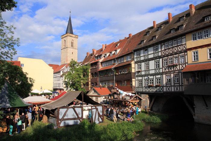 Krämerbrückenfest Erfurtde