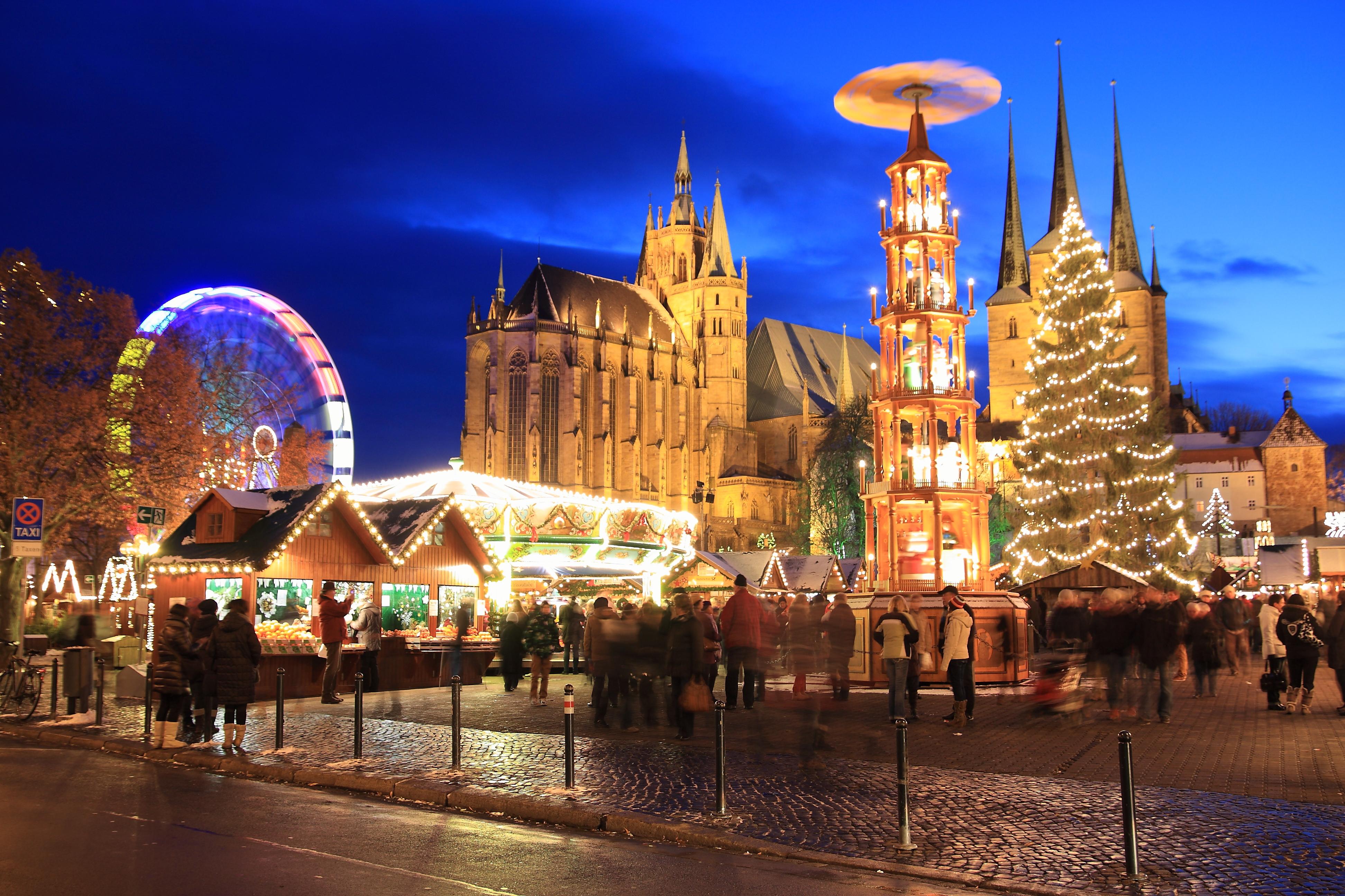 Weihnachtsmarkt I.Erfurt Bilder Feste Märkte Und Veranstaltungen Erfurt De