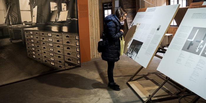 """Ausstellungseröffnung """"Industrie und Holocaust"""" im Mainzer"""