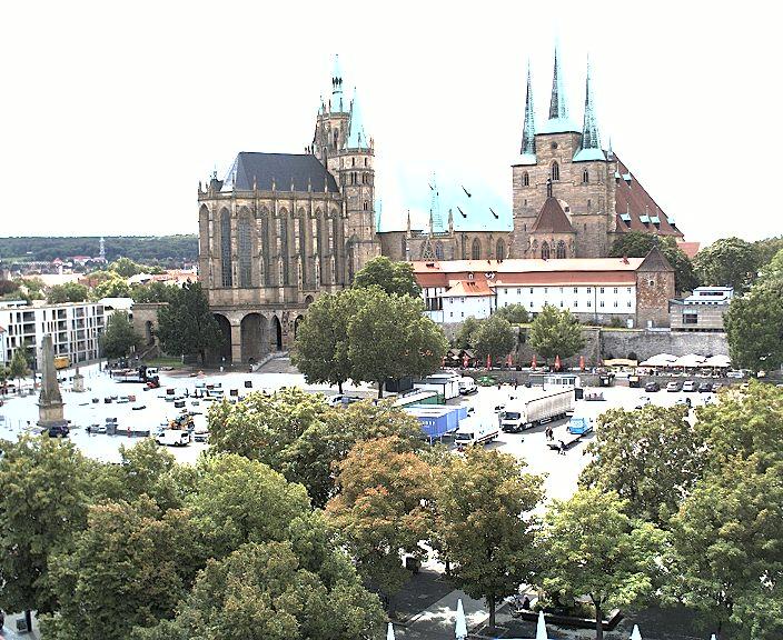 Webcam Erfurt Domplatz